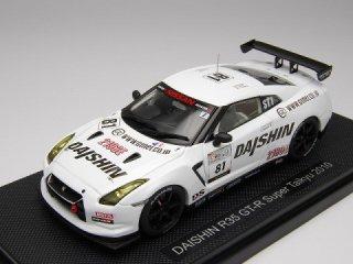 1/43 ダイシン R35 GT-R スーパー耐久 岡山 2010 #81<br>