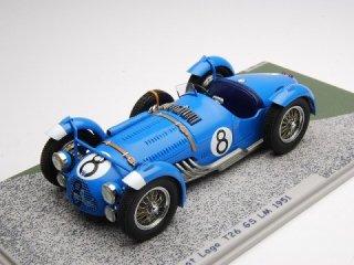 1/43 タルボ ラーゴ T26 GS ル・マン24時間 1951 #8<br>