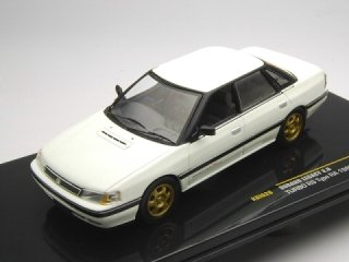 1/43 スバル レガシィ 2.0 Turbo RS Type RA 1989 ホワイト<br>