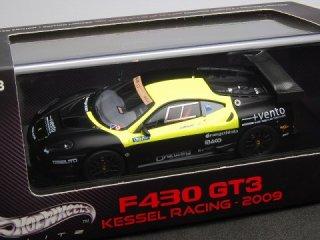 1/43 フェラーリ F430 GT3 スクーデリア KESSEL RACING バレルンガ6時間 11位 2009 #46<br>