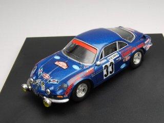 1/43 アルピーヌ・ルノー A110 ラリー モンテ・カルロ 22位 Gr3 優勝 1973 #33 J.Henry<br>