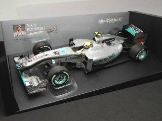 1/18 メルセデス GP ペトロナス F1 チーム MGP W01 2010 #4 N.ロズベルグ<br>
