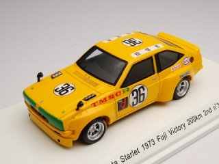 1/43 トヨタ スターレット 富士ビクトリー200km 2位 1973 #36<br>