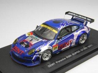 1/43 ゼント ポルシェ RSR スーパーGT300 2011 #25 【レジン】<br>