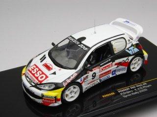 1/43 プジョー 206 WRC ラリー・イーペル 2000 #9 P.Snijers<br>
