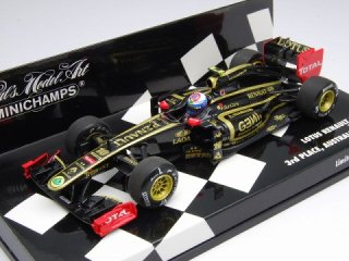 1/43 ロータス ルノー GP R31 オーストラリアGP 3位 2011 #10 V.ペトロフ<br>