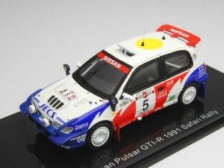 1/43 ニッサン パルサー GTI-R サファリラリー 5位 1991 #5 S.Blomqvist<br>