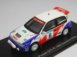 1/43 ニッサン パルサー GTI-R スウェディシュラリー 3位 1992 #6 S.Blomqvist<br>