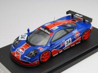 1/43 マクラーレン F1 GTR Gulf Rasing ル・マン24時間 5位 1996 #34<br>