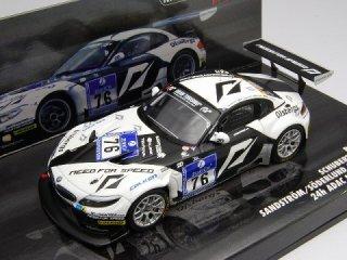 1/43 BMW Z4 GT3 Schubert Motorsport ニュルブルクリンク24時間 4位 2010 #76<br>