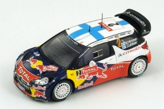 1/43 シトロエン DS3 WRC ラリー・モンテカルロ 4位 2012 #2 M.Hirvonen<br>