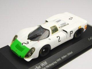 1/43 ポルシェ 908K ニュルブルクリンク1000km 優勝 1968 #2<br>