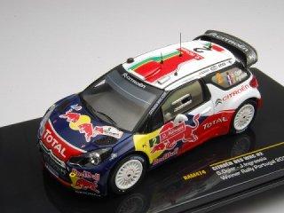 1/43 シトロエン DS3 WRC ラリー・ポルトガル 優勝 2011 #2 S.Ogier<br>