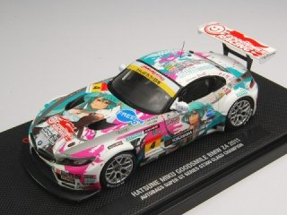 1/43 初音ミク GOODSMILE BMW Z4 スーパーGT300 クラスチャンピオン 2011 #4<br>
