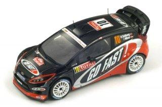 1/43 フォード フィエスタ RS WRC ラリーモンテカルロ 13位 2012 #10 H.Solberg<br>