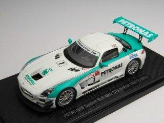 1/43 ペトロナス シンティアム SLS AMG GT3 スーパー耐久 2012 #1<br>