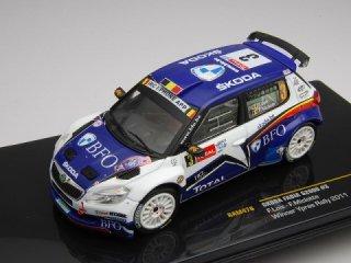 1/43 シュコダ ファビア S2000 ラリー・イーペル 優勝 2011 #3 F.Loix<br>