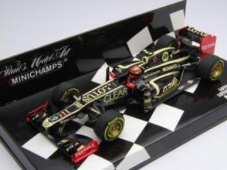 1/43 ロータス F1チーム ロータス ルノー E20 2012 #10 R.グロージャン<br>