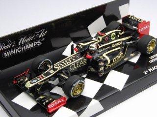 1/43 ロータス F1チーム ロータス ルノー E20 初表彰台 バーレーンGP 2位 2012 #9 K.ライコネン<br>