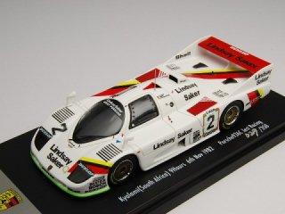 1/43 ポルシェ 936C Jest Racing キャラミ9時間 4位 1982 #2<br>