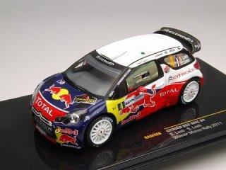 1/43 シトロエン DS3 WRC モンツァラリーショー 優勝 2011 #4 S.Loeb<br>