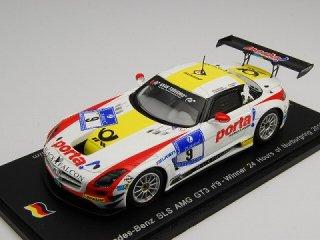 1/43 メルセデス・ベンツ SLS AMG GT3 ニュルブルクリンク24時間 優勝 2013 #9<br>