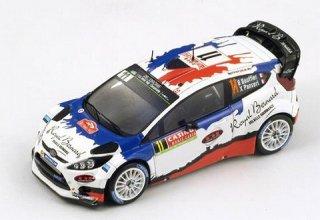 1/43 フォード フィエスタ RS WRC ラリー・モンテカルロ 2位 2014 #11 B.Bouffier<br>