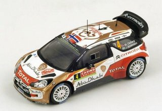 1/43 シトロエン DS3 WRC ラリー・モンテカルロ 4位 2014 #4 M.Ostberg<br>