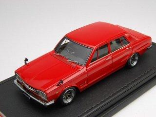 1/43 ニッサン スカイライン 2000 GT-R(PGC10) 1969 レッド<br>