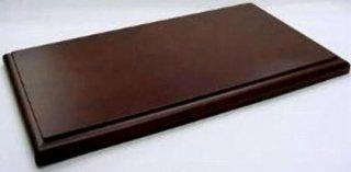 取寄品 1/18スケール用 ディスプレイ木製ベース ブラウン<br>