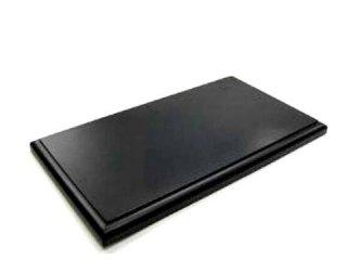 1/18スケール用 ディスプレイ木製ベース ブラック<br>