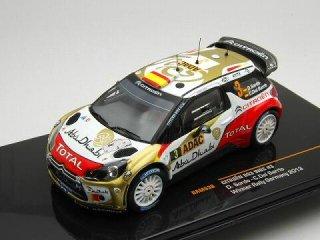 1/43 シトロエン DS3 WRC ラリージャーマニー 優勝 2013 #3 D.Sordo<br>