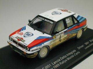 1/43 ランチア デルタ インテグラーレ ラリー・モンテカルロ 優勝 1989 #4 M.Biasion  ウェザリング仕様<br>