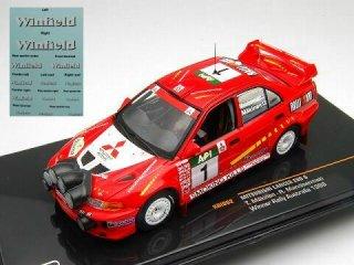 1/43 三菱 ランサー EVO � オーストラリアラリー 優勝 1998 #1 T.Makinen<br>