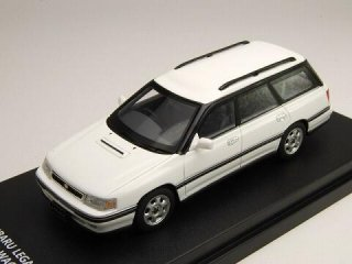 1/43 スバル レガシィ ツーリング ワゴン GT 1989 セラミックホワイト<br>