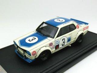 1/43 ニッサン スカイライン 2000GT-R (KPGC10) 富士マスターズ250km 優勝 1971 #3<br>