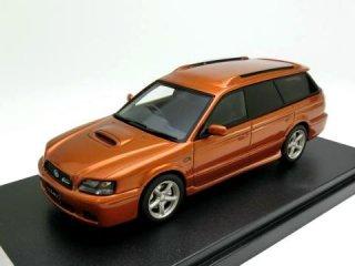 1/43 スバル レガシィ ツーリング ワゴン GT-B E-tune II 2001 カッパーオレンジ・マイカ<br>