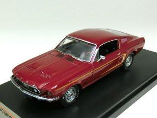 1/43 フォード マスタング GT-390 ファストバック 1968 ボルドー<br>