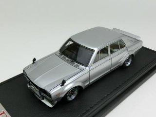 1/43 ニッサン スカイライン 2000 GT-R (PGC10) シルバー<br>