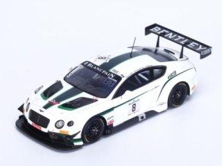 1/43 ベントレー コンチネンタル GT3 M-Sport Bentley スパ24時間 17位 2014 #8<br>
