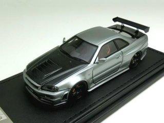 1/43 ニスモ R34 GT-R Z-tune ガンメタリック<br>