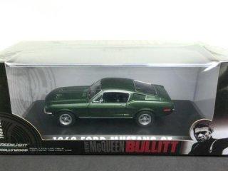 """1/43 フォード マスタング GT Hollywood Series 3 """"Bullitt"""" 1968 ダークグリ−ン<br>"""