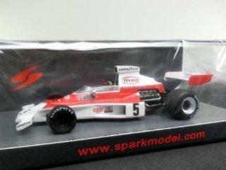 1/43 マクラーレン M23 ブラジルGP 優勝 1974 #5 E.フィッティパルディ<br>