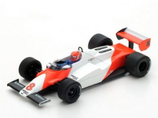 1/43 マクラーレン MP4/1C アメリカ西GP ロングビーチ 2位 1983 #8 N.ラウダ<br>