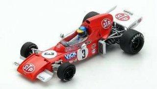 1/43 マーチ 721 南アフリカGP 5位 1972 #3 R.ピーターソン<br>
