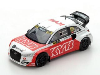 1/43 アウディ S1 EKS RX World Rx of France 2017 #51 N.Muller<br>