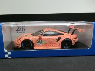 1/43 ポルシェ 911 RSR ル・マン24時間 15位 LMGTE Proクラス優勝 2018 #92<br>