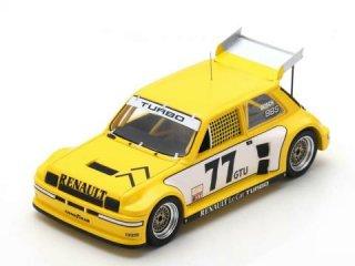 1/43 ルノー 5 Turbo Renault Racing IMSA ロードアトランタ GTU 3位 1981 #77<br>