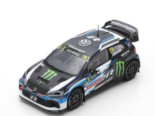 1/43 VW ポロ GTi RX VW Supercar World RX Portugal 3位 2018 #11