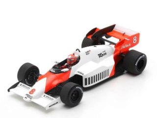 <img class='new_mark_img1' src='https://img.shop-pro.jp/img/new/icons12.gif' style='border:none;display:inline;margin:0px;padding:0px;width:auto;' />1/43 マクラーレン MP4-2 F1 イギリスGP 優勝 1984 #8 N.ラウダ<br>